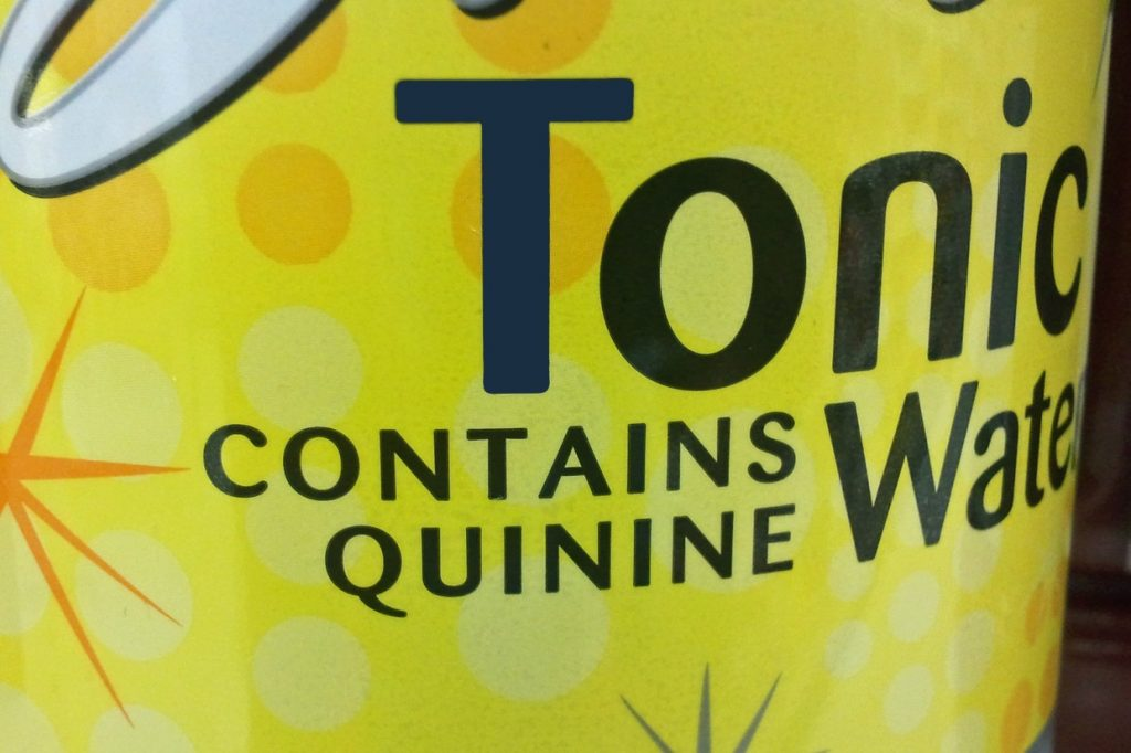 Tonic Water - Quinine